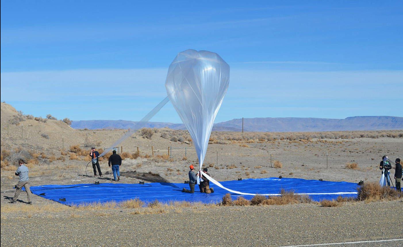 Projet Loon de Google - Ballon stratosphérique